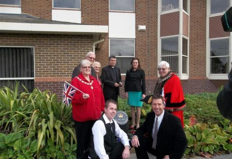 Jubilee Stone Unveiled at Castle Point Council Offices