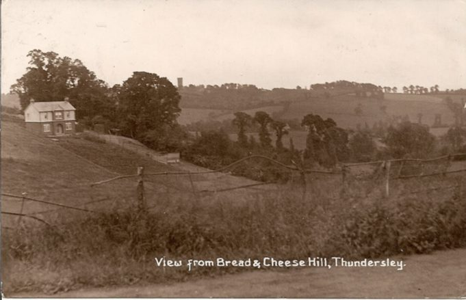 Views of Bread and Cheese Hill | R F Postcards