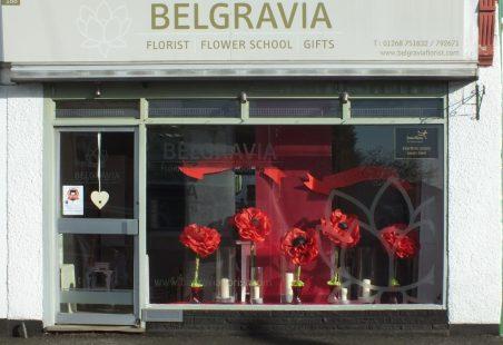 Belgravia Flowers honours the war dead