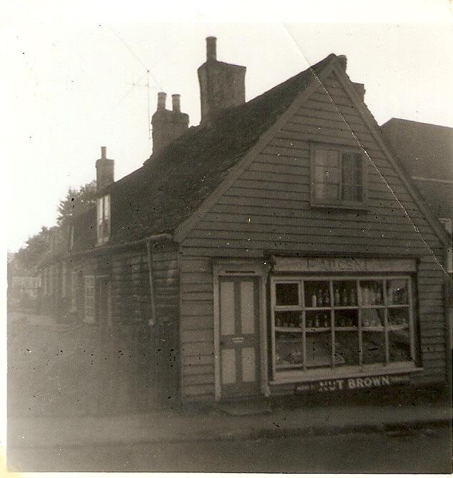 A shop in Benleet High Street. c. early 1960s | Celia Drew