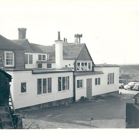The rear of The Hoy 1959   Joan English (nee Philips)