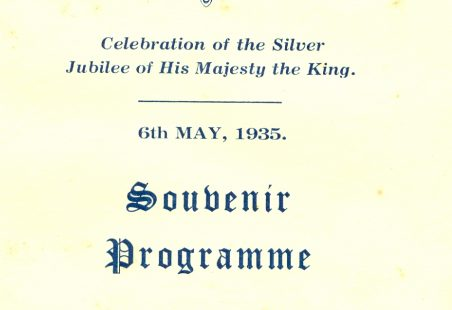 Silver Jubilee Celebration of King George V, 6th May 1935