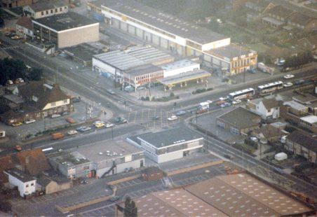Aerial View of Tarpots Corner