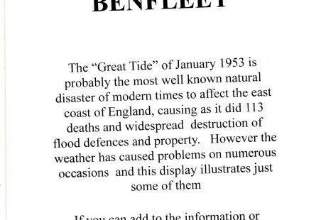 Extreme weather in Benfleet