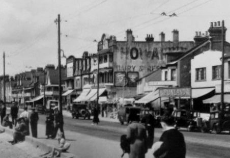 Photo linked to comment - Howards Dairies in Thorpe Bay c 1910