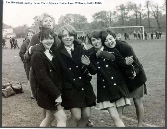 Girls on the playing playing fields | Glenn Newman