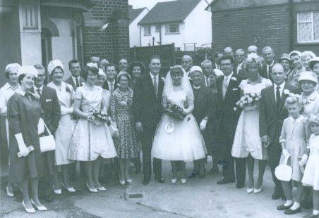 Wedding at Benfleet Methodist Church