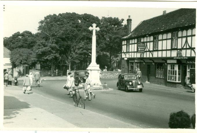 Church Corner in the 1950s | Jill Burkett