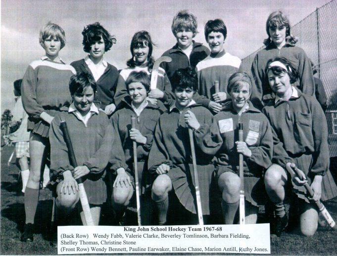 King John School hockey team 1967/68 | Glenn Newman