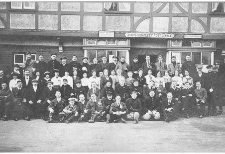 Belgian Refugees and Parishioners
