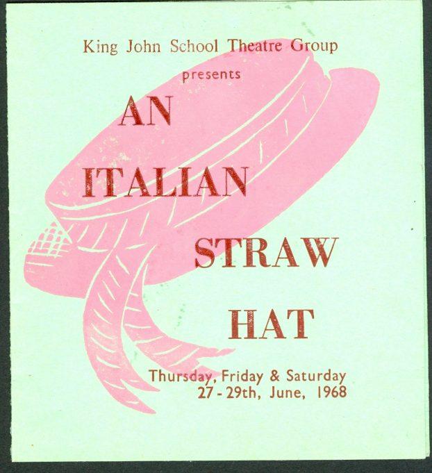 School production of 'An Italian Straw Hat' - June 1968 | Glenn Newman