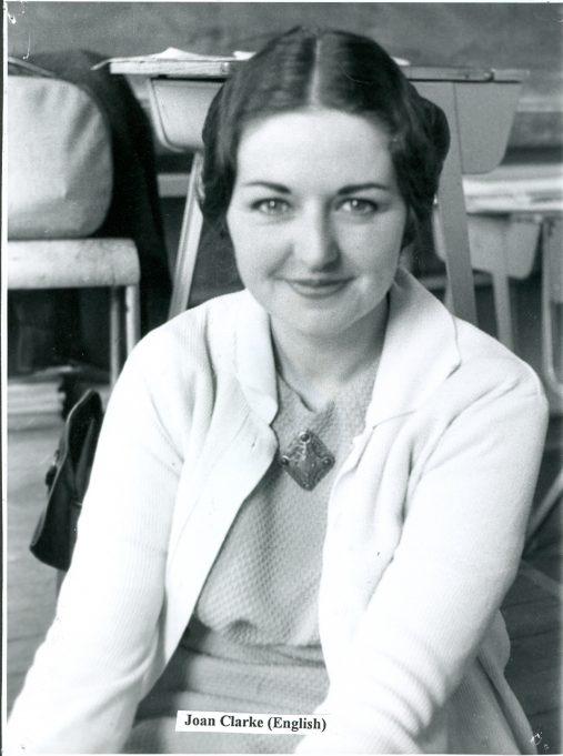Joan Clarke - English teacher | Glenn Newman