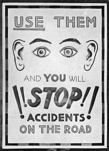 Road safety Poster | Janet Hayward