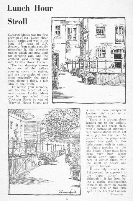 Lunch Hour Stroll | by C W Comerford, courtesy of Janet Hayward