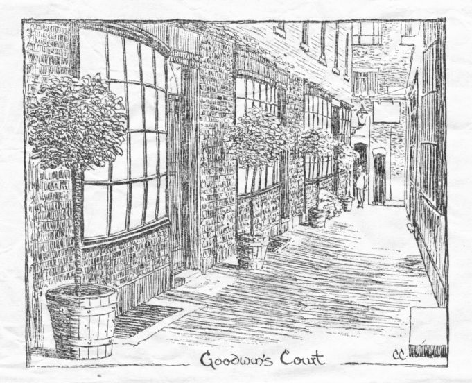 Goodwin's Court | by C W Comerford, courtesy of Janet Hayward