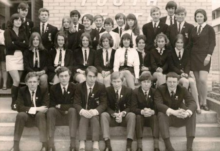 King John Comprehensive - Prefects 1970