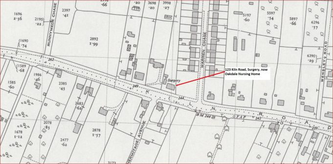 Location of Kiln Road surgery | National Library of Scotland