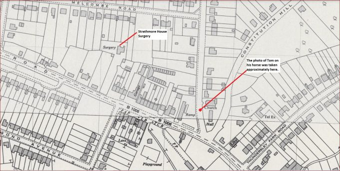Location of Strathmore House surgery | National Library of Scotland