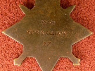 8. Reverse of 1914 Star.