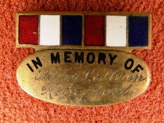 10. Mons In Memory Badge.