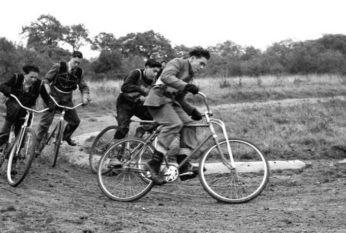 Do you recognise the rider or location? | 'Cycle Speedway Teams Down The Ages' https://www.cyclespeedwayhistory.org.uk