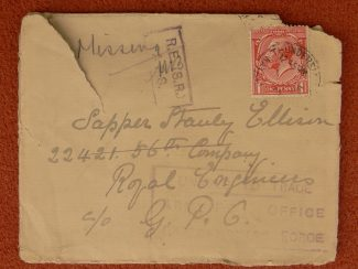 5. Envelope marked 'Missing.'