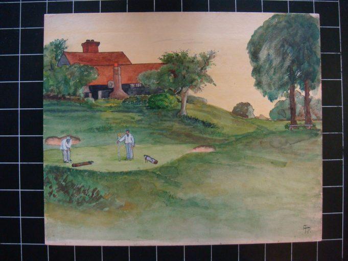 The Eighteenth hole, Boyce Hill