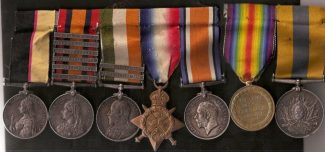 War Medal Awards to William Cornelius Griffiths | Medals of England