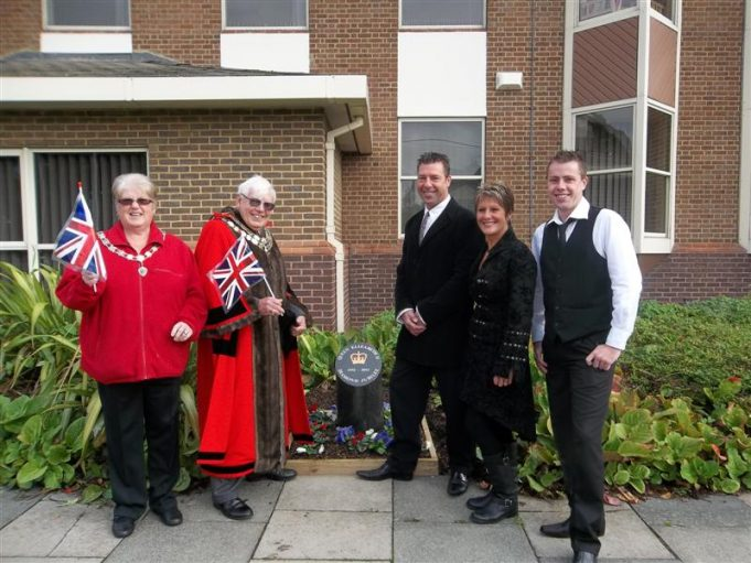 Martin and Jay Rees with the Mayor and Mayoress | Castle Point Council