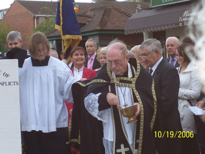 The Blessing of the Memorial   Ian Hawks