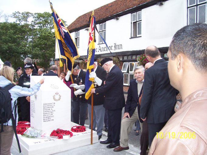 The British Legion and their banners | Ian Hawks