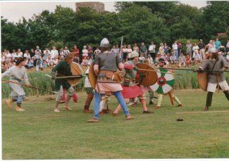 Battle of Benfleet re-enactment | Sue Wise