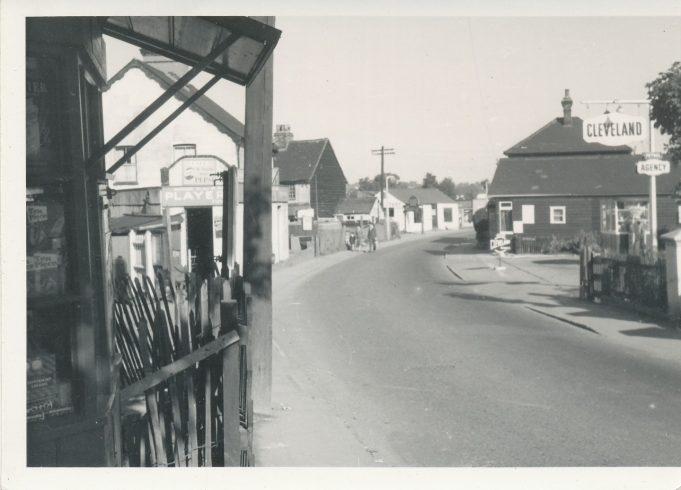 View from station end of High Street