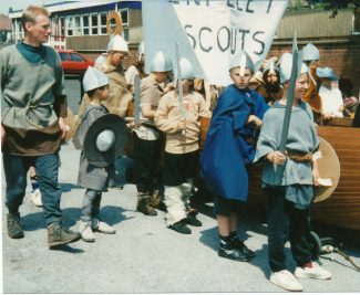 Troops mustering   Supplied by Diana Hawkins
