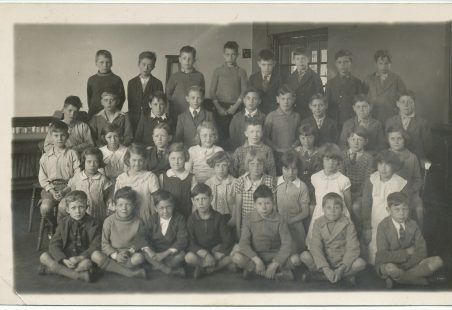 Benfleet Primary School Class Photo 1936
