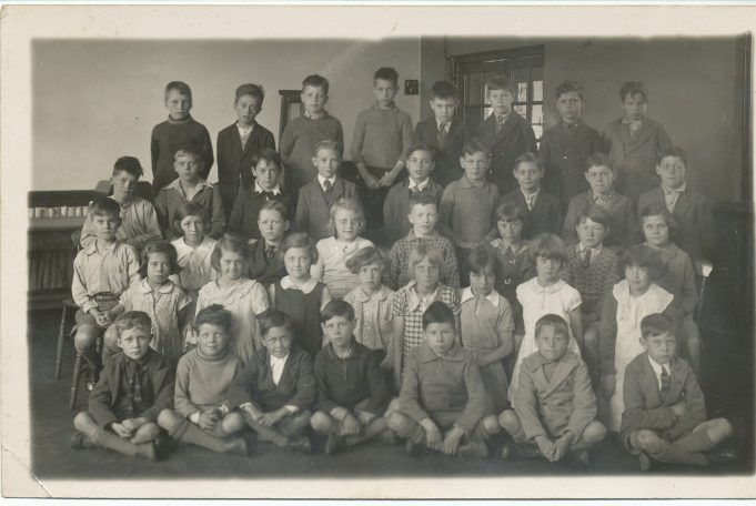 Benfleet Primary School class photo 1936 | From the Johnson collection