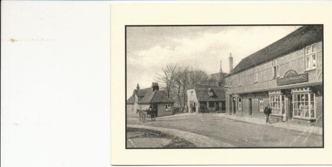 Church Corner about 1910
