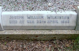Grave of Joseph William Wilkinson. | Ronnie Pigram.
