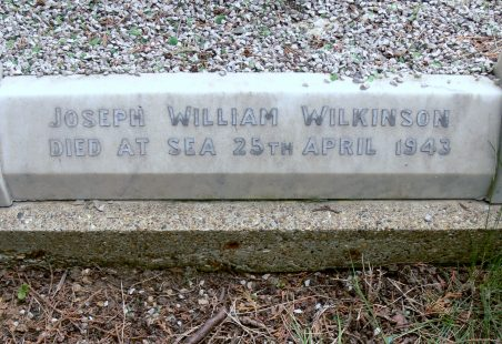 Killed In Action 1943.  Not Commemorated Locally.