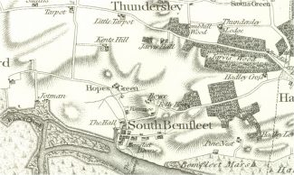 The Chapman and Andre map from 1777 showing main road network much the same as today and no change on Saxon times | Phil Coley