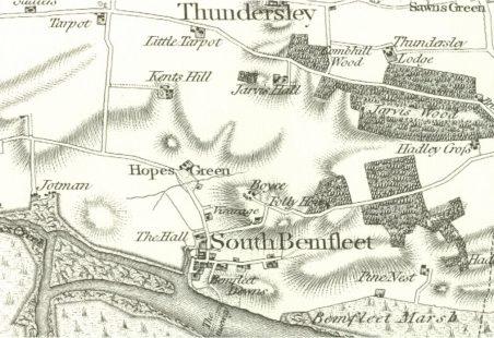 Medieval Roads in Benfleet