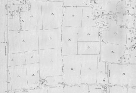 "1922 - 25"" to the mile - Ordnance Survey Map - Benfleet (Great Tarpots area)"