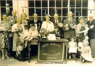 BHS Show held at South Benfleet Primary School 1958 | Benfleet Horticultural Society