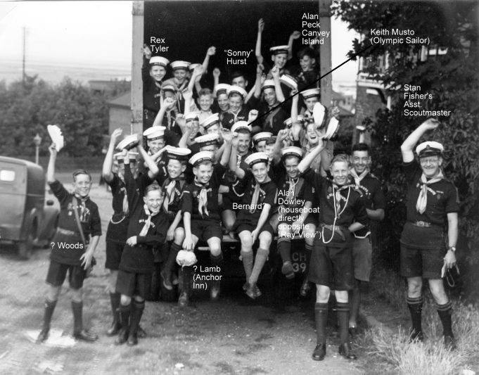 1st & 2nd South Benfleet Sea Scouts | Shiner & Holmes