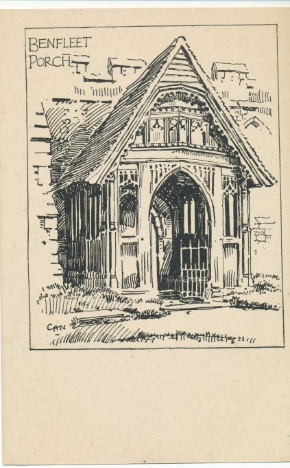 The Beautiful Porch drawn by Charles Nicholson