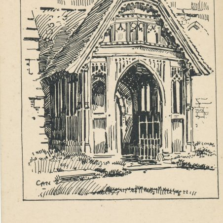 The Beautiful Porch drawn by Charles Nicholson