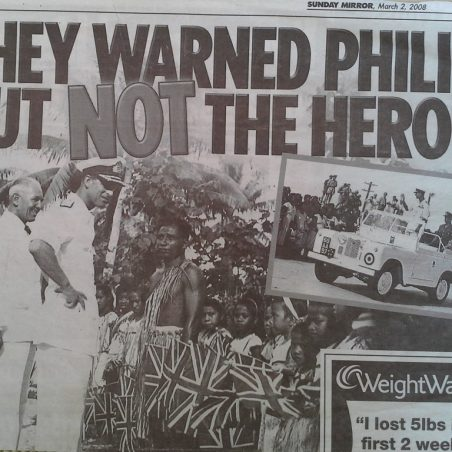 'Sunday Mirror' March 2008 newspaper cutting. | Mirror Newspaper