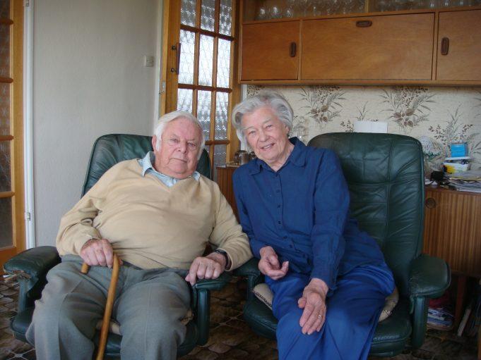 Betty and Morris Johnson | Mark Thres