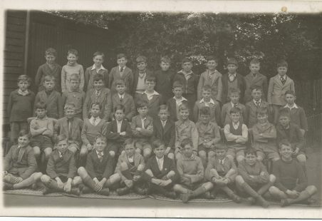 Benfleet Primary School in 1938