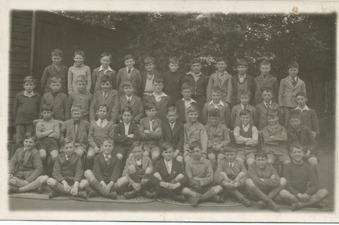 Benfleet Primary School class photo 1938 | Morris Johnson collection
